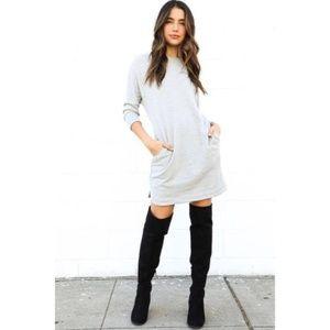 (NWOT) Comfy Sweatshirt Dress